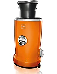 NOVIS 4 In 1 Vita Juicer Orange 1 Appliance 4 Functions Citrus Press High Extraction Juicer For Fruits Vegetables And Leafy Greens Puree Food Mill Attachment By NOVIS