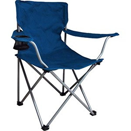 this patio furniture folding chair is perfect for pool parties sporting and concert outdoor events camping motorhomes includes cup holder and carry bag