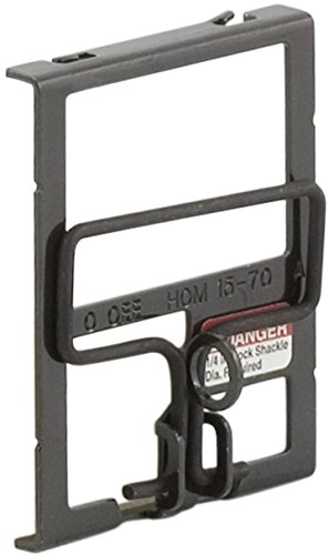 Circuit Breaker Padlock Attachment - Square D by Schneider Electric HOM2PALACP Homeline Two-Pole Circuit Breaker Handle Padlock Attachment