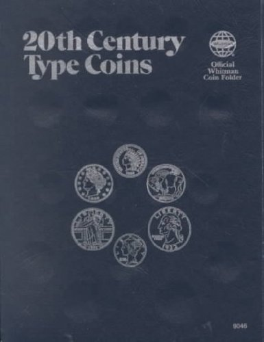 20Th Century Type Coins Official Whitman Coin Folder 20Th Century Type Coins