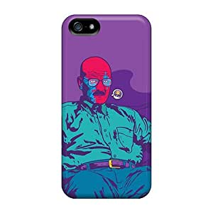 Fashion Protective Breaking Bad Vector Case Cover For Iphone 5/5s