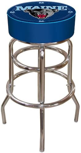 NCAA Logo Padded Bar Stool