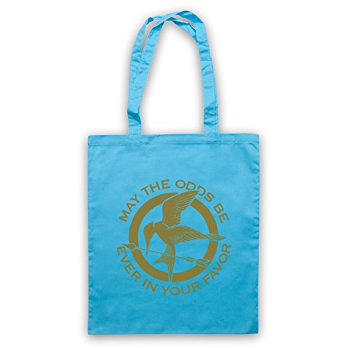 Hunger Games Odds Ever In Your Favor Bolso Azul Cielo