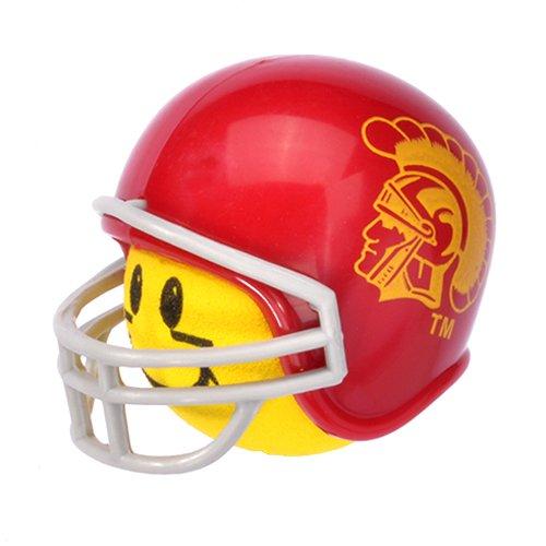 - Antenna Balls HappyBalls USC TROJANS College Football Car Antenna Topper Rear View Mirror Dangler - Mirror Hanger (Yellow Face) Auto Accessory