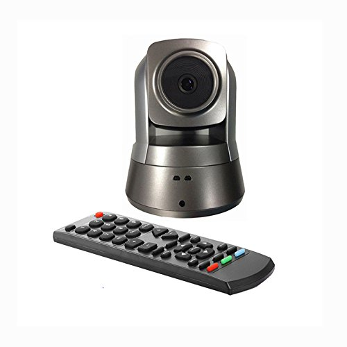 1080P USB Video Conference Camera With Remote control,Right&Left 350° Up&down 120° Wide-angle