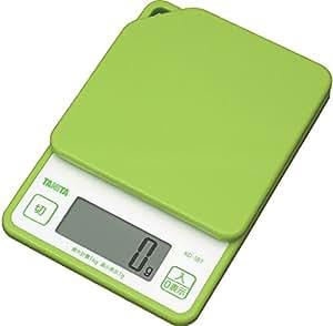 Tanita digital cooking scale 1kg Green KD-187-GR
