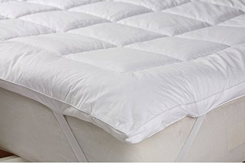-[ The Bettersleep Company Brand - HOTEL QUALITY MICROFIBRE MATTRESS TOPPERS DOUBLE BED 137x193cms