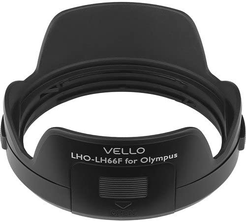 6 Pack Vello LH-66F Dedicated Lens Hood with Filter Access Panel