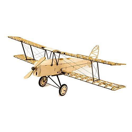 [해외] Goolsky 1/18 De Havilland Tiger Moth 400mm 익폭목제 정적 비행기 모델 크래프트 목재 가구 기프트 아이와 어른 Dancing Wings Hobby VX10 장식