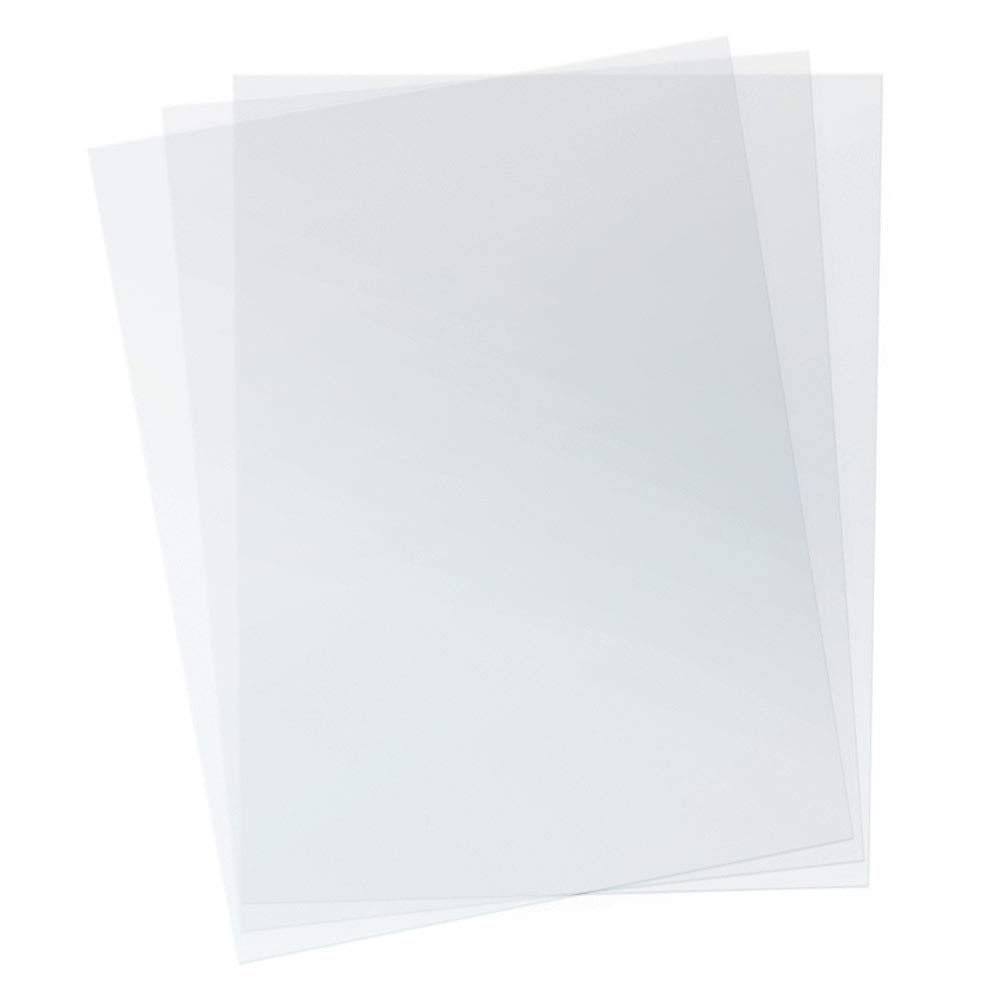 TruBind - PVC Clear Binding Covers PVC Binding Covers - Variety of Sizes and Thickness - Binding Covers for Business Reports and Proposals - 100 Individual Sheets - 3.5 Pounds