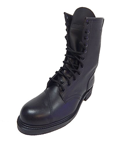 steel toe army boots - 4