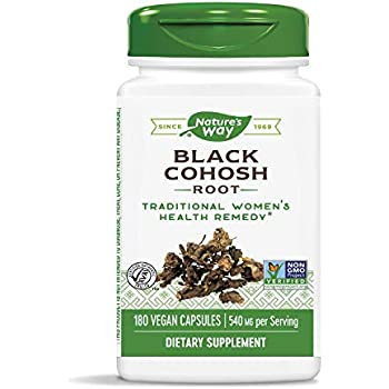 Amazon com: Nature's Bounty Natural Whole Herb Black Cohosh