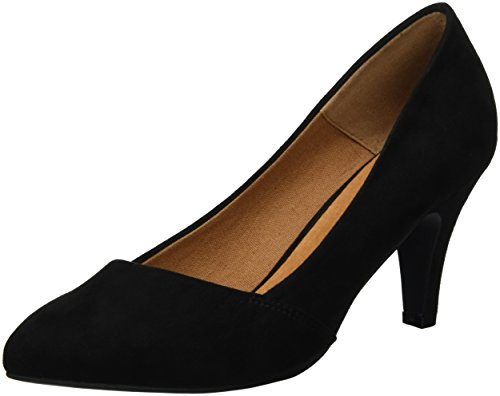 Femme Fermé Pump Escarpins Black Basic 49217 24 Noir Bianco Loafer Bout SAp0qwS8n