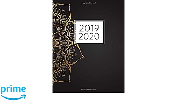 2019-2020: 2019-2020 Weekly and Monthly Planner, Agenda ...