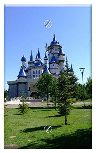 - Single-Gang Blank Wall Plate Cover - Eskisehir Turkey Fairy Tale Castle Tourist