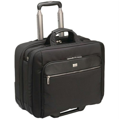 Case Logic CLRS-117 Carrying Case (Roller) for 17.3'' Notebook, Travel Essential - Black by Case Logic (Image #1)