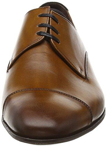 Floris van Bommel 14192/00, Zapatos de Cordones Derby para Hombre Marrón (Brown)