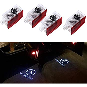 Amazon.com: GANKING - Luces LED para puerta de coche, con ...