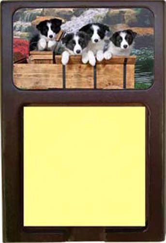 Border Collie Note (Border Collie Sticky Note Holder)