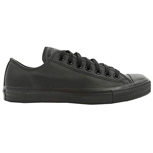 ck Taylor All Star Shoes (1T865) Low Top in Black Monochrome, 4 D(M) US Mens / 6 B(M) US Womens, Black Nubuck ()