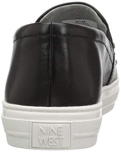 Leather Black Sneaker Women's West Nine Olivary 1TRtxq
