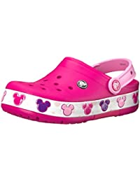 Kids' Crocband Fun Lab Mickey Light-Up Clog