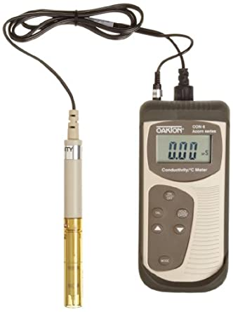 Oakton Acorn CON 6 Portable Conductivity Meter, with Probe