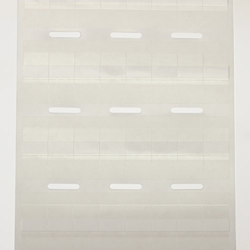 Panduit R100X125V1T Thermal Transfer Label, Vinyl, Clear/White (2,500-Pack) by Panduit (Image #1)