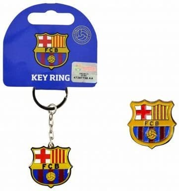 Metal Crest Keyring F.C Barcelona