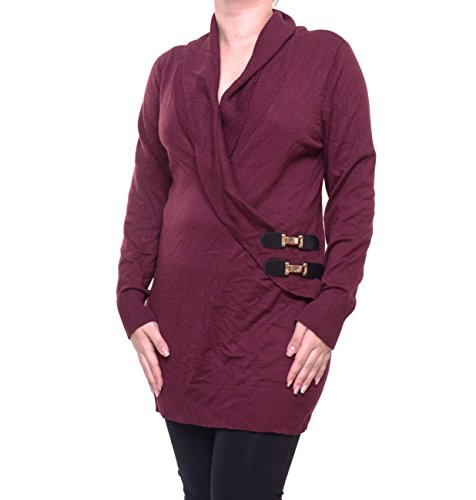 Picture of an INC International Concepts FauxWrap Tunic 706256935317