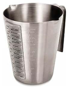 LACOR 67135 ST.STEEL MEASURING CUP W/WINDOW 0.35 LT