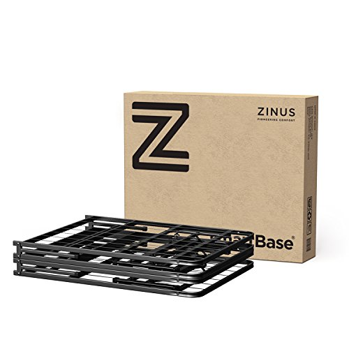 Zinus 14 Inch SmartBase Mattress Foundation/Platform Bed Frame/Box Spring Replacement/Quiet Noise-Free/Maximum Under-bed...