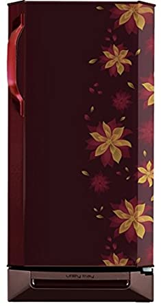 Godrej 195 L 3 Star Direct-Cool Single-Door Refrigerator (R D EZXL 210 TDF 3.2 DLA WIN, Dhalia Wine)