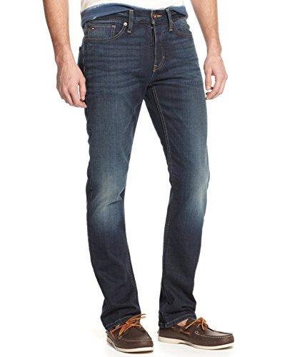 Tommy Hilfiger Rebel Slim Straight Leg Jeans Mens 38x34