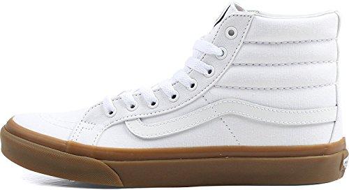 Scarpe Da Skateboard Vans Mens Sk8-hi (light Gum) True White (5.5 Donne / 4 Uomini M Us)