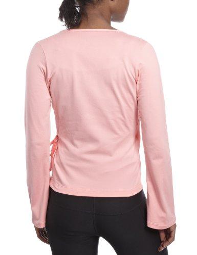 Rosa Manga up Cover Larga Para Mujeres Nike Top fP0q8w