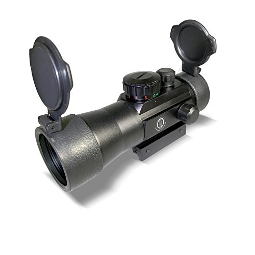 Dagger Defense 2X Magnified Red Dot Reflex Sight Optic Scope
