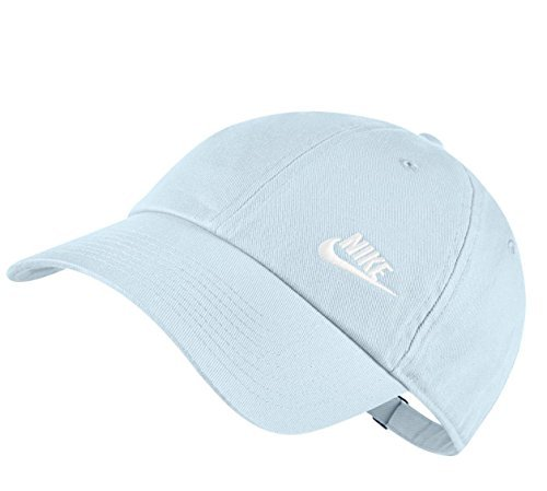 f473fd90fb9e0 Galleon - Nike Womens Futura Classic H86 Hat (Glacier Blue White ...