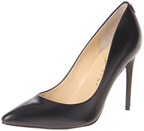Ivanka Trump Women's Kayden Shoe, black leather, 8 Medium US