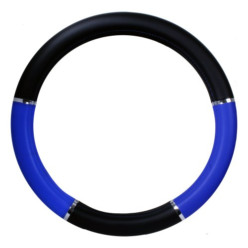 18 inch blue steering wheel cover - 2