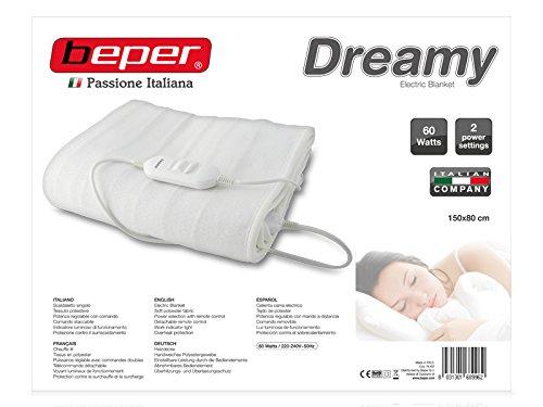 Beper RI.401 - Calienta cama individual: Amazon.es: Salud y cuidado personal