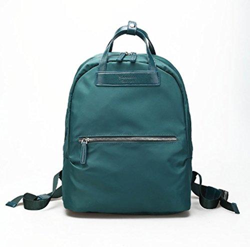Swallowuk - Bolso mochila para mujer verde verde verde