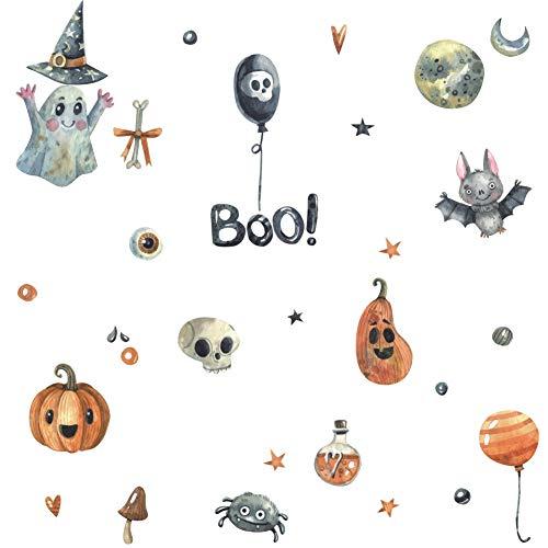 Arttop Halloween Party Supplies Cute DIY Wall Decal,