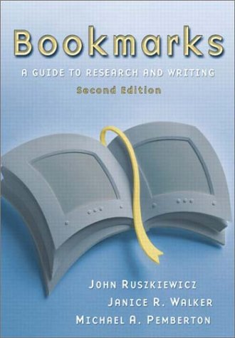 Bookmarks: A Guide to Research and Writing (2nd Edition)