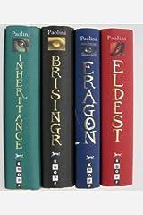 Christopher Paolini Inheritance Cycle 4 Book Set: Eragon, Eldest, Brisingr, Inheritance by Christopher Paolini (2010-05-03) Hardcover