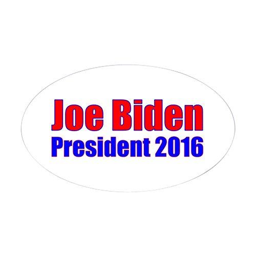 CafePress - Joe Biden President 2016 Sticker - Oval Bumper Sticker, Euro Oval Car Decal