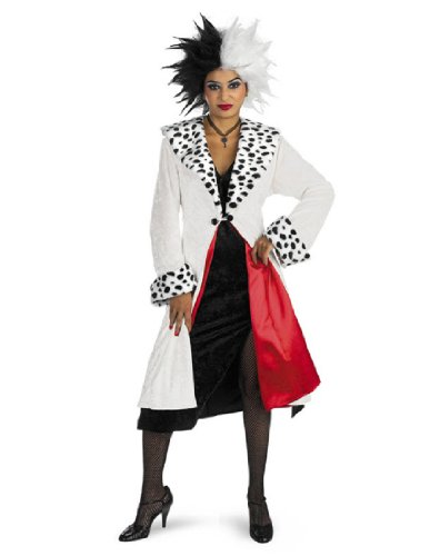 Cruella Deville Coat (Disney's Cruella D'Evil Adult Costume by)
