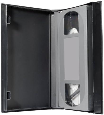 Ednet 91918 - Estuche para video VHS, color negro (pack 5 unidades): Amazon.es: Informática