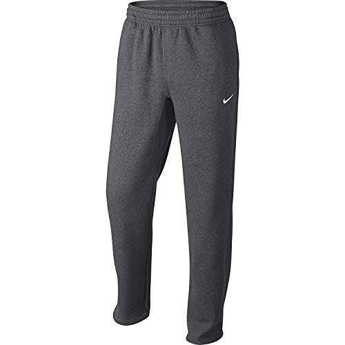 NIKE Men's Club Swoosh Fleece Sweatpants, Medium  - Fleece Nike Pant Mens