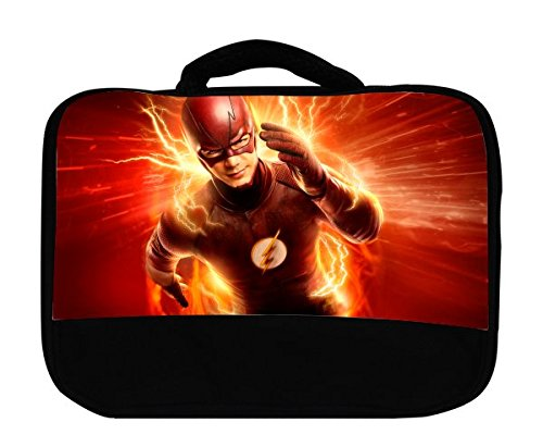 Comic Book Hero Canvas Lunch Bag by Compass Litho